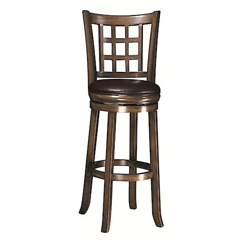 "Coaster Dining Chairs and Bar Stools 29""H Swivel Bar Stool"