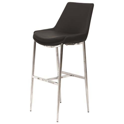 Coaster Dining Chairs and Bar Stools Contemporary Bar Chair