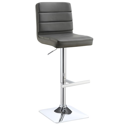 Coaster Dining Chairs and Bar Stools Adjustable Upholstered Bar Stool