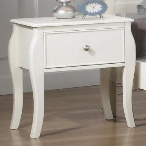 Coaster Dominique Nightstand w/ Drawer