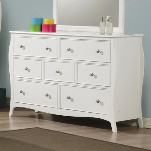 Coaster Dominique 7 Drawer Dresser
