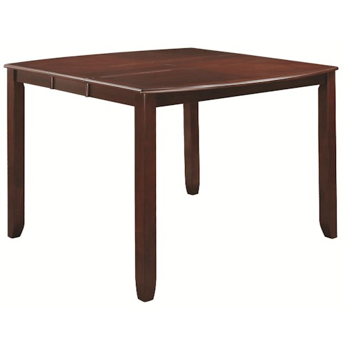 Coaster Dupree Casual Counter Height Table