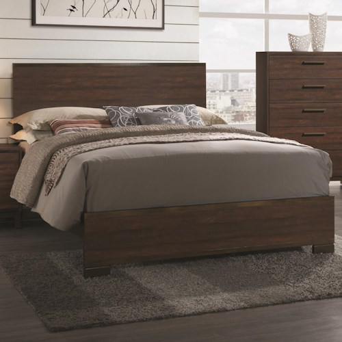 Coaster Edmonton Eastern King Bed with Wood Headboard
