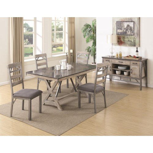 Coaster Edmonton Formal Dining Room Group