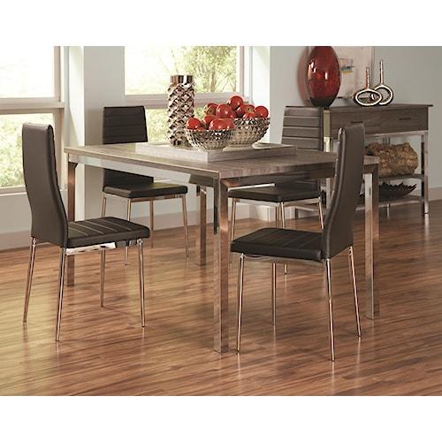 Coaster Eldridge Casual Dining Room Group