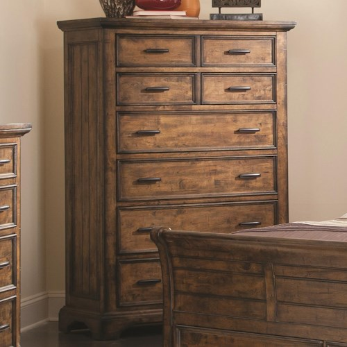 Coaster Elk Grove Chest with 6 Drawers