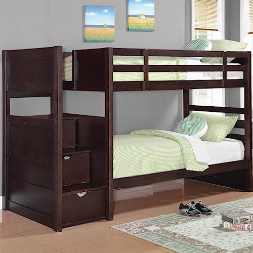 Coaster Elliott Twin Bunk Bed