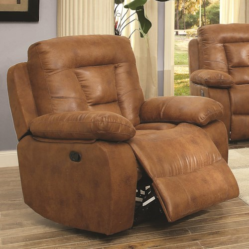 Coaster Evensky Power Recliner in Performance Fabric