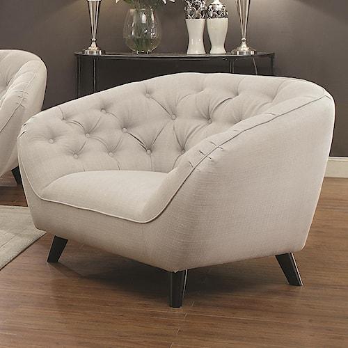 Coaster Faymoor Mid-Century Modern Chair