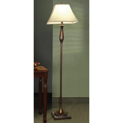 Coaster Floor Lamps Dark Bronze Finish Floor Lamp