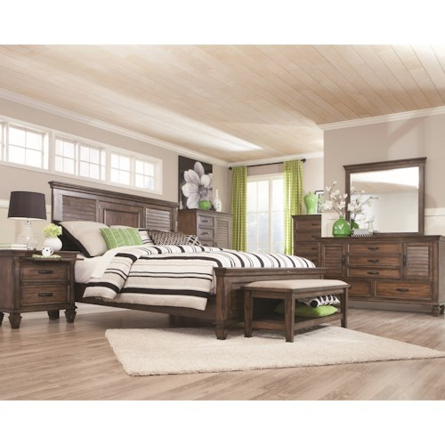Coaster Franco Queen Bedroom Group