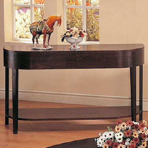 Coaster Gough Sofa Table with Shelf