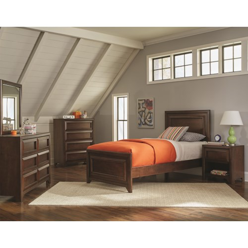 Coaster Greenough Twin Bedroom Group