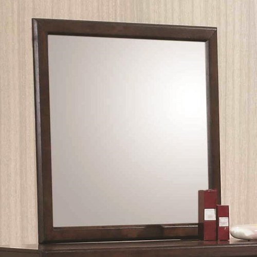 Coaster Greenough Mirror with Wood Frame