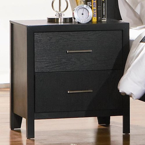 Coaster Grove Two Drawer Night Stand