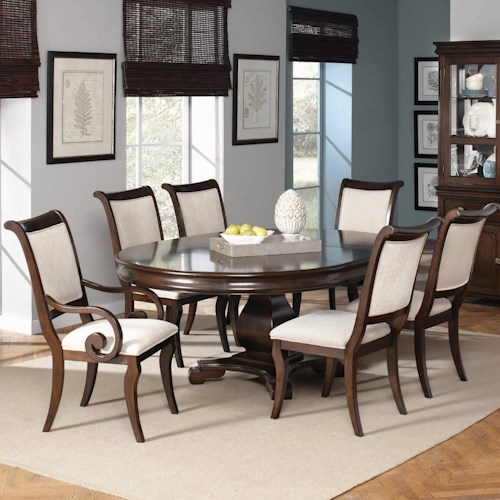 Coaster Harris 7 Piece Dining and Chair Set