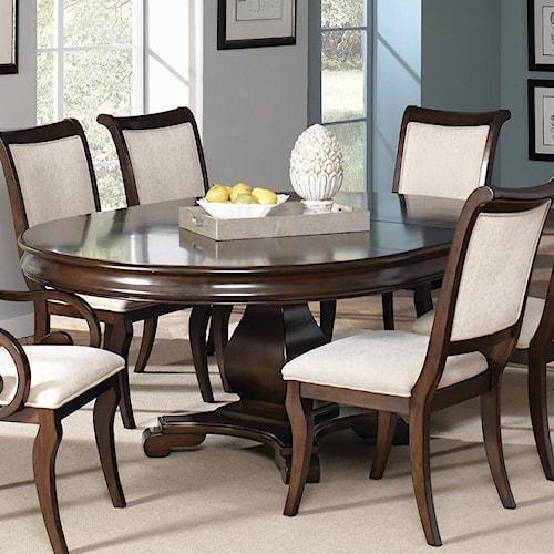 Coaster Harris Single Pedestal Dining Table