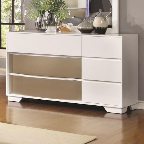 Coaster Havering Dresser with Dovetail Drawers