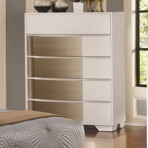 Coaster Havering Chest with Dovetail Drawers