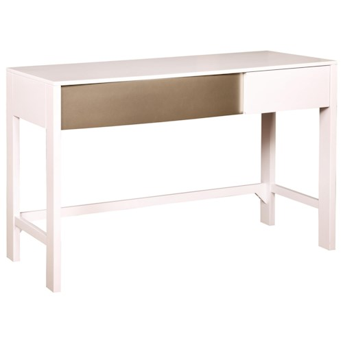 Coaster Havering Two-Tone Writing Desk