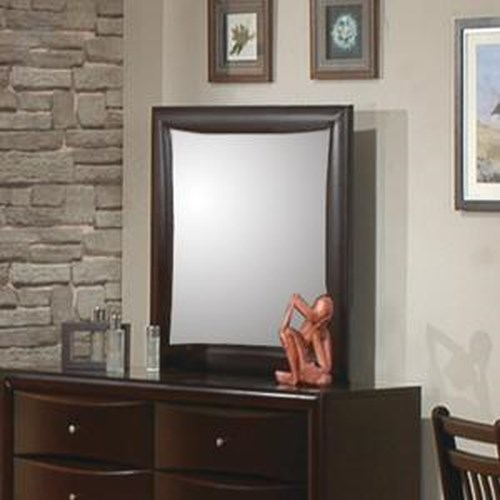 Coaster Phoenix Contemporary Youth Dresser Mirror