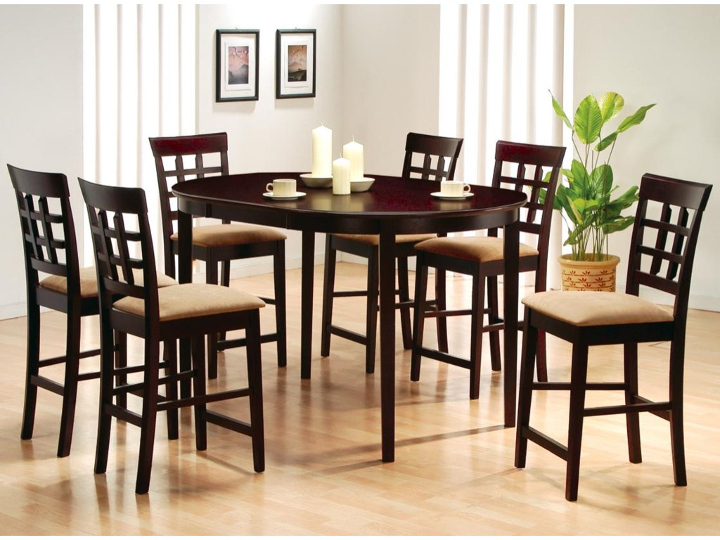 Shown with Oval Counter Height Table