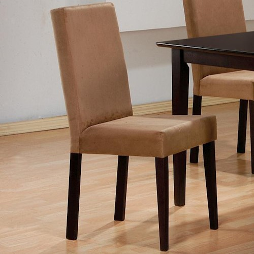 Coaster Mix & Match Upholstered Parson Dining Chair