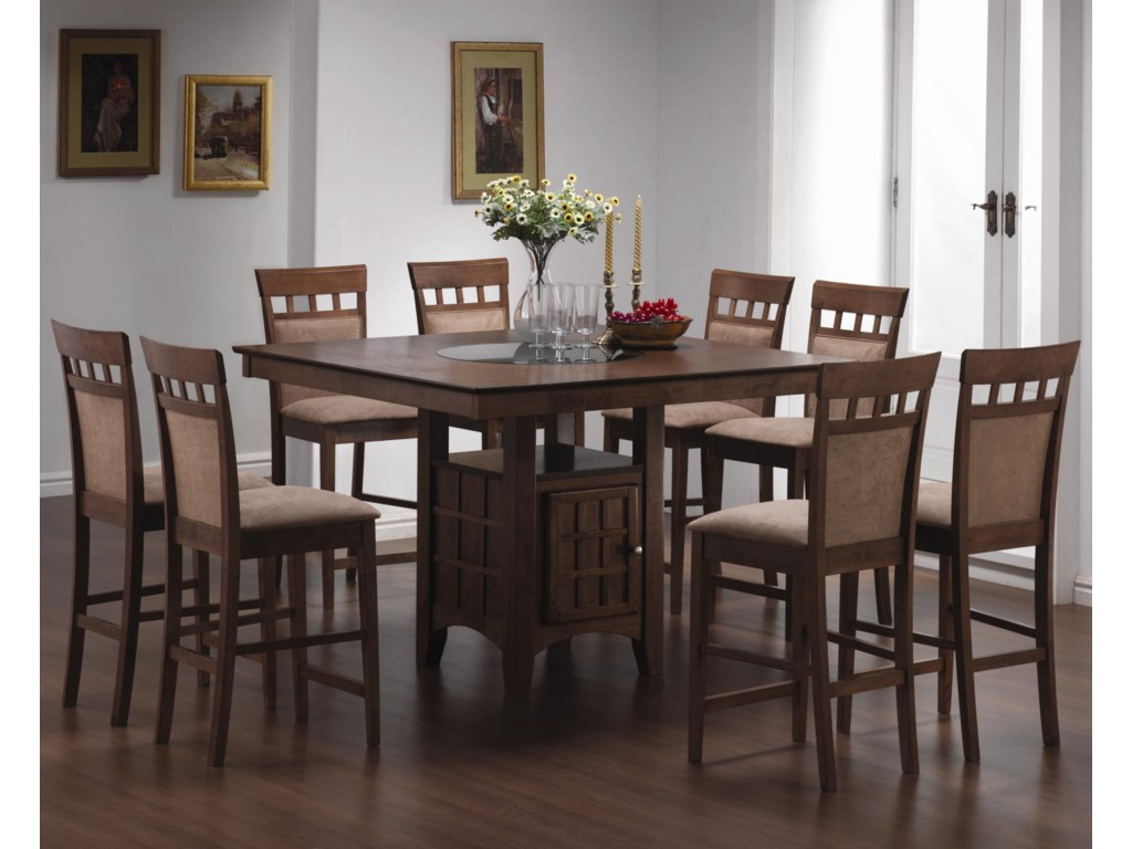 Shown with Upholstered Back Chairs