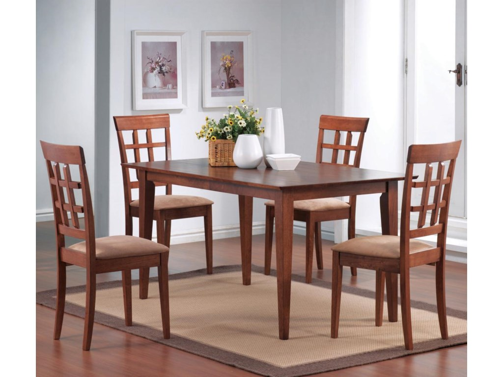 Shown with Wheat Back Dining Chairs