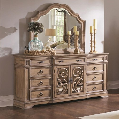 Coaster Ilana 9 Drawer Dresser with Full Extension Glides