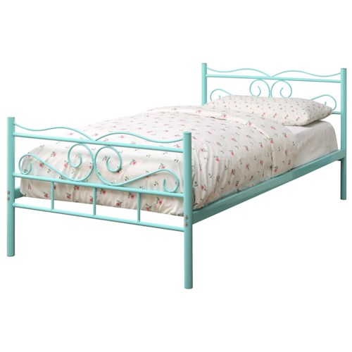 Coaster Iron Beds and Headboards Twin Bailey Metal Bed