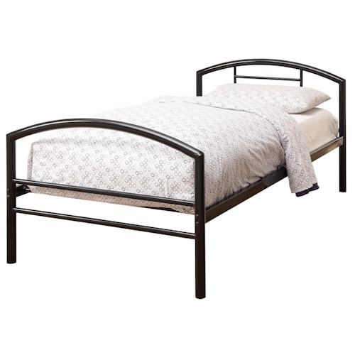Coaster Iron Beds and Headboards Twin Baines Metal Bed