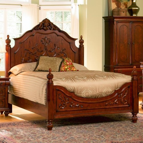Coaster Isabella California King Carved Bed