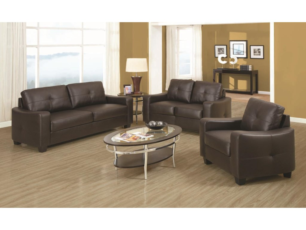 Shown with Coordinating Sofa and Loveseat