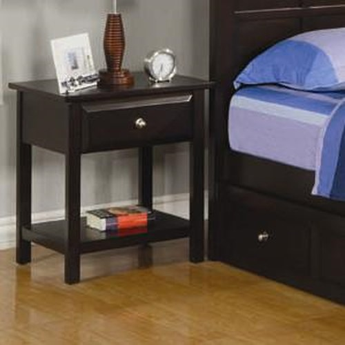 Coaster Jasper Night Stand with 1 Drawer and 1 Shelf