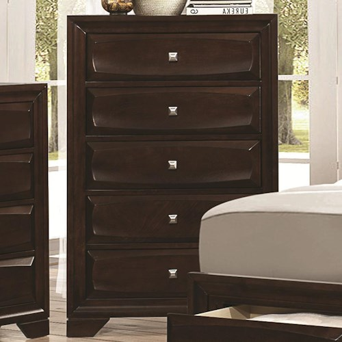 Coaster Jaxson Chest of Drawers with 5 Drawers