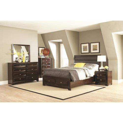 Coaster Jaxson California King Bedroom Group