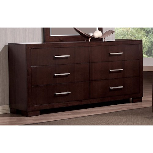 Coaster Jessica 6 Drawer Dresser