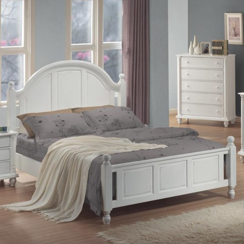 Coaster Kayla King Panel Bed