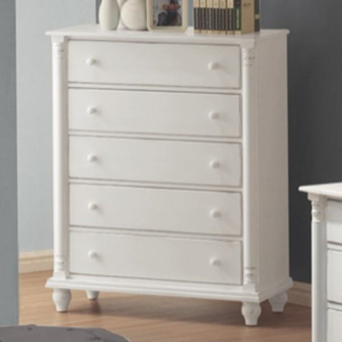 Coaster Kayla 5 Drawer Chest