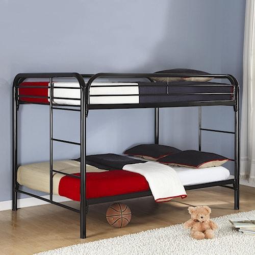Coaster Fordham Full Over Full Bunk Bed
