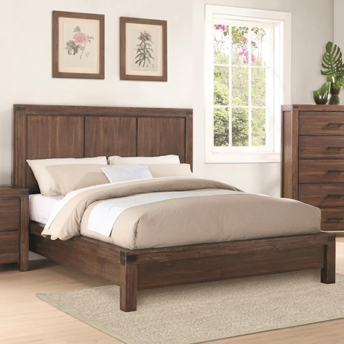 Coaster Lancashire Queen Platform Bed