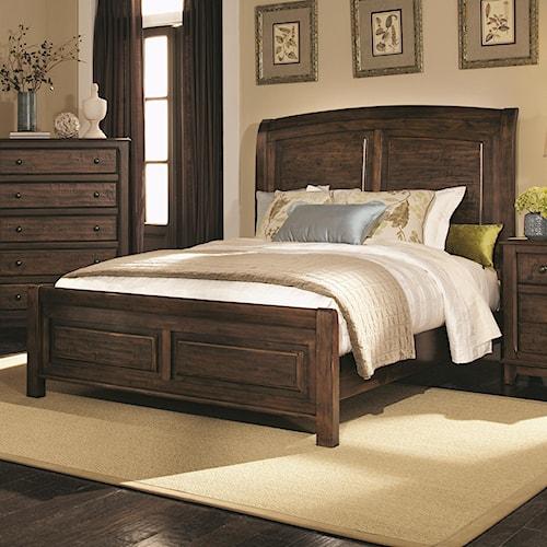 Coaster Laughton Casual California King Sleigh Bed