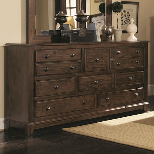 Coaster Laughton Casual Dresser with 8 Drawers