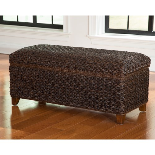 Coaster Laughton Woven Banana Leaf Trunk