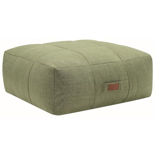 Coaster Lazy Life Foam-Filled Casual Ottoman
