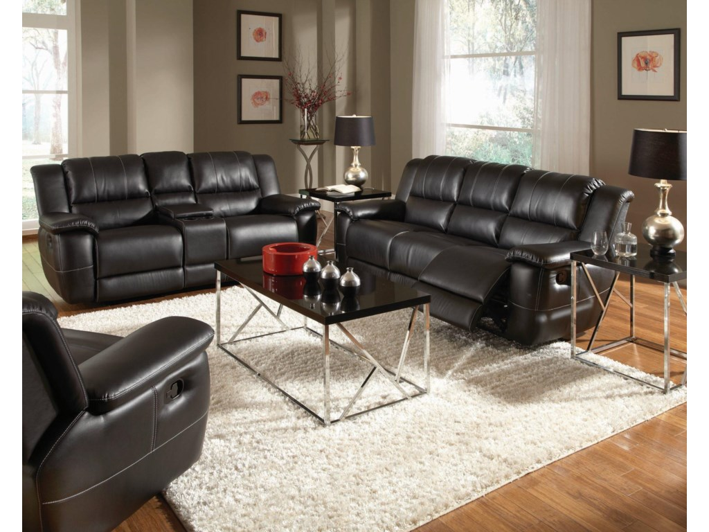 Shown with Double Reclining Gliding Loveseat and Motion Sofa