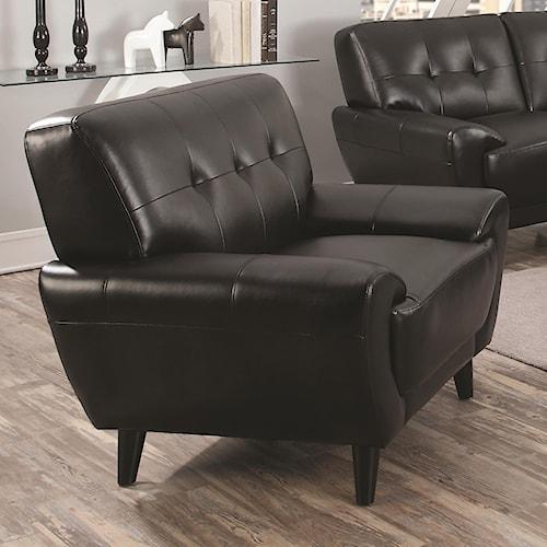 Coaster Leskow Mid Century Modern Chair