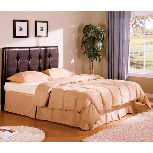 Coaster Lewis Queen Upholstered Headboard with Button Tufting