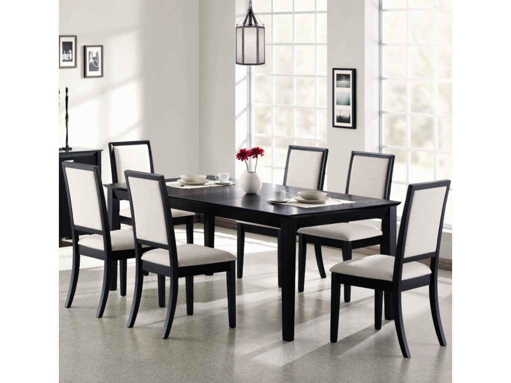 Shown with Upholstered Side Chairs